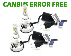 V9 CSP LED Headlight Bulbs Kit 10000 Lumens! 12-24v Canbus Error Free H7 H4 Preview