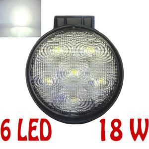 12V / 24V 18W 11cm 6 LED Work Light 4X4 Truck Off-Road Spot Lamp Lighting Part Preview