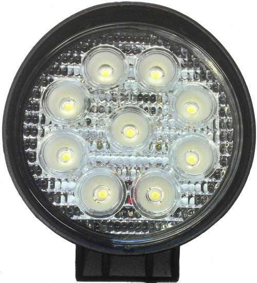 Shop Lights Not Working: 12V / 24V 27W 11CM 9 LED WORK LIGHT 4X4 TRUCK OFF-ROAD