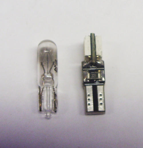 T5 286 Canbus Led Upgrade Bulbs Lighting Part For Depo