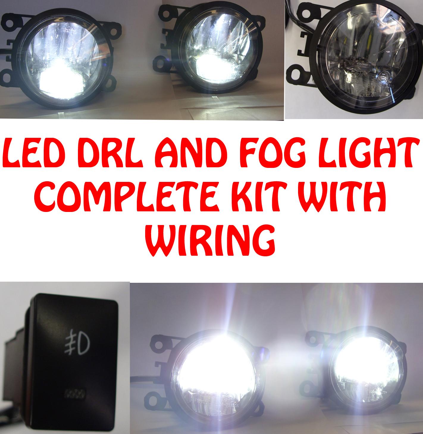 prezzo basso rapporto qualità-prezzo adatto a uomini/donne Dettagli su Alta Potenza LED DRL e Luci Fendinebbia Cavi Interruttore per  Citroen C4 Picasso