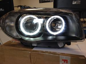 Bmw 1 Series E81 E82 E87 E88 04 12 Black Led Angel Eye