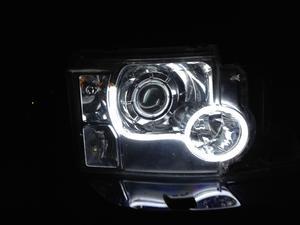 12V Flexible Lightbar Style DRL LED Daytime Running Lights Xenon White Preview