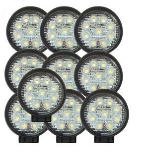 12V / 24V 27W 11CM 9 LED WORK LIGHT SPOT FLOOD 4X4 TRUCK OFF-ROAD LAMP Preview