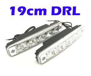 Universal 5 LED 19cm DRL Lights Daytime Running lights e4 mark Preview