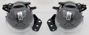 For BMW 5 Series E60 M-Sport & M5 2002-2010 Front Fog Lights Lamps Pair OS NS Preview