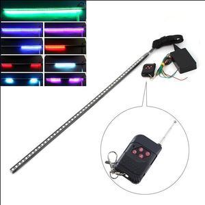 Knight Rider 56cm RGB LED strip light remote, 100's patterns 48LED FLASH STROBE Preview