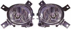 For Audi A4 Mk2 Saloon & Estate 9/2004-3/08 Front Fog Lights Lamps Pair OS NS Preview
