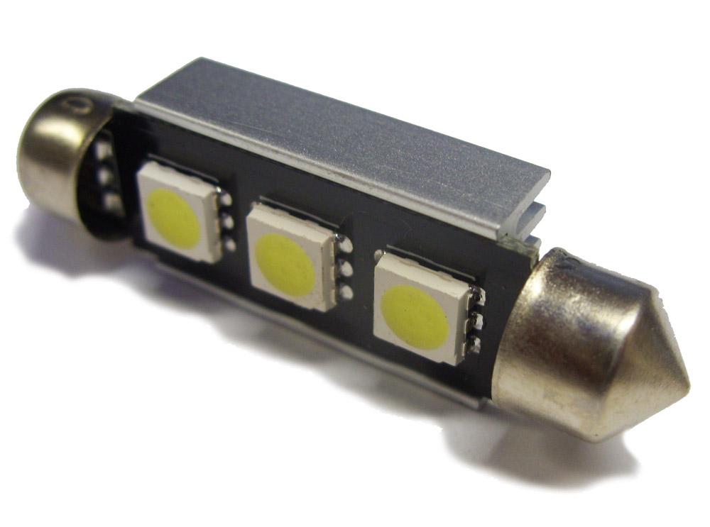 LED Interior Festoon Bulb 264 44mm Roof Under Bonnet For VW Lupo Jetta Vento