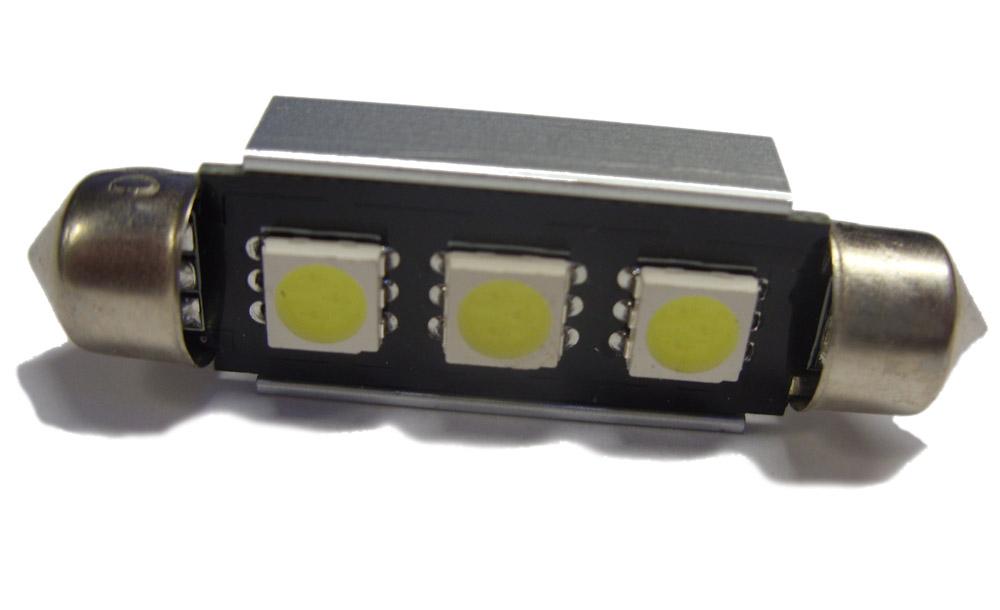 LED Interior Festoon Bulb 264 44mm Roof Boot For Renault Traffic Master Van