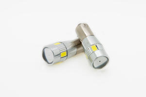BAY9S H21W 435 CANBUS CREE SMD LED BULB - XENON WHITE REVERSE FOG Preview