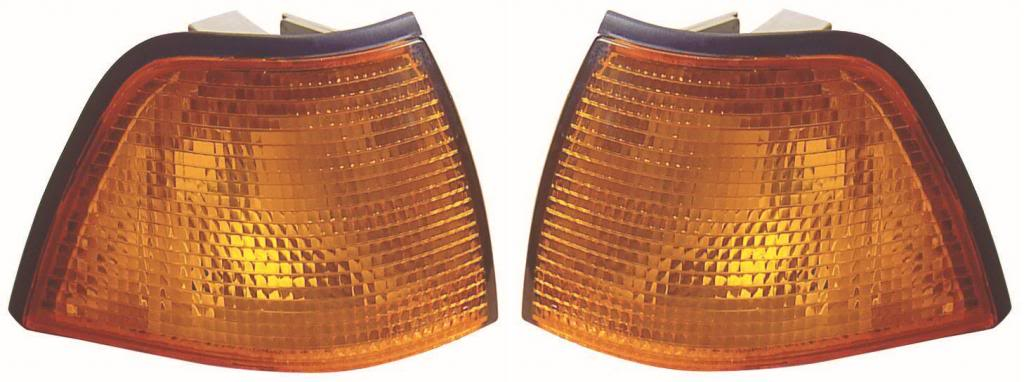 Fits BMW 3 Series E36 91-2000 2 Door Coupe Cabrio Amber Indicator Right Side