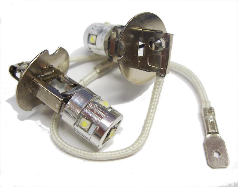 Details About H3 Led Fog Light Bulbs Drl Daytime Running Lamps For Chrysler 300m 00 05 Neon