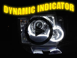Flexible Lightbar Style DRL LED Daytime Running Lights White DYNAMIC INDICATOR Preview