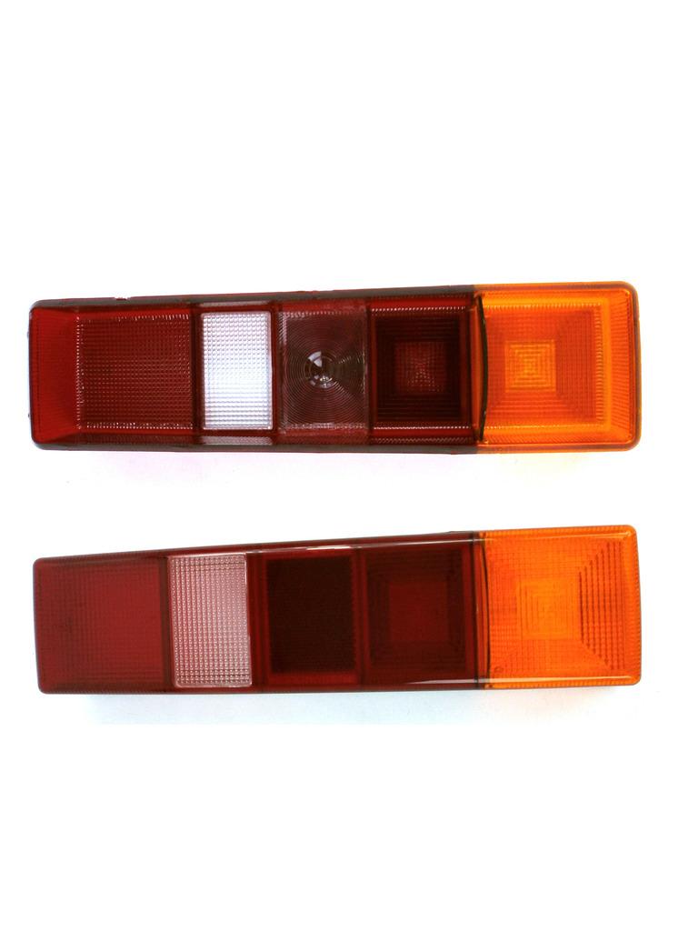 Un par de lentes de Luz Trasero Ford Transit MK7 2006-2014 Derecho /& Izquierda