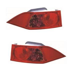 Honda Accord Mk8 Saloon 7//2008-6//2011 Outer Wing Rear Light Lamp Passenger Side