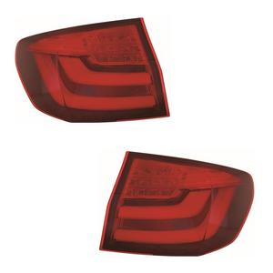 For BMW 5 Series F11 Estate 2/2010-7/2013 Red Led Outer Rear Lights Pair OS NS Preview