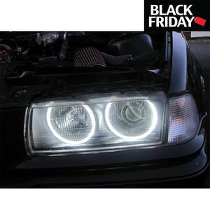 4X Ccfl Angel Eye Eyes Halo Rings Light Lamp Bulbs Kit For BMW E36 3 E38 White Preview
