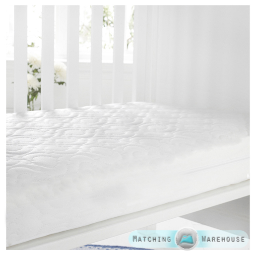 Baby-Quilted-Cot-amp-Junior-Bed-Cotbed-Mattresses-Fully-Breathable-with-Zip-Cover