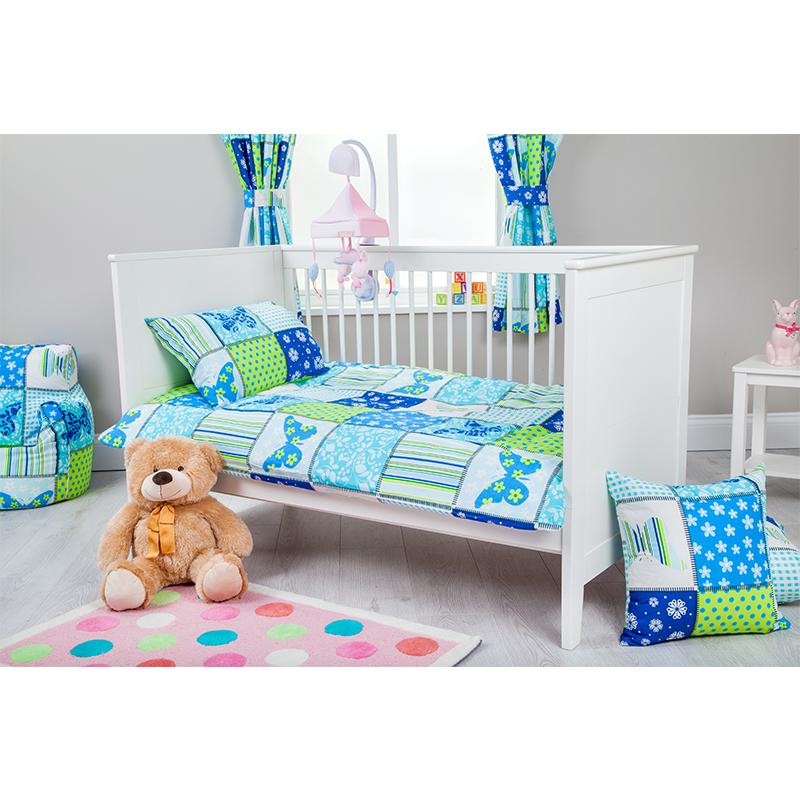 Children S Cot Bed Duvet Covers: Childrens Cot Size Duvet Cover & Pillowcase Nursery Baby