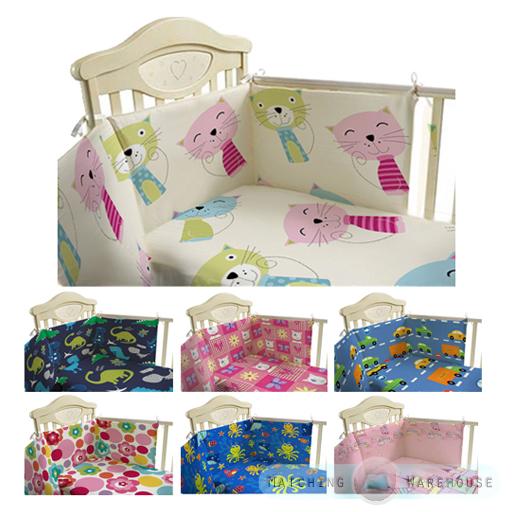 kinder kindergarten bettw sche set 3 teile gitterbett nestchen baby ebay. Black Bedroom Furniture Sets. Home Design Ideas