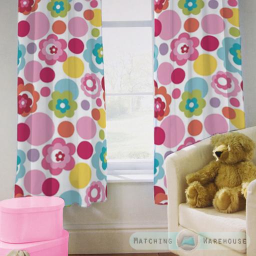 Enfants-rideaux-Maternelles-Enfants-Junior-Tweens-bandeau-superieur-et-plis-serres-tiebacks miniature 21