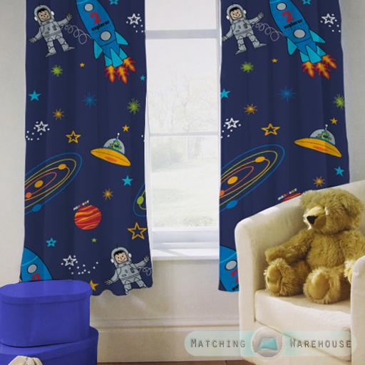 Enfants-rideaux-Maternelles-Enfants-Junior-Tweens-bandeau-superieur-et-plis-serres-tiebacks miniature 41