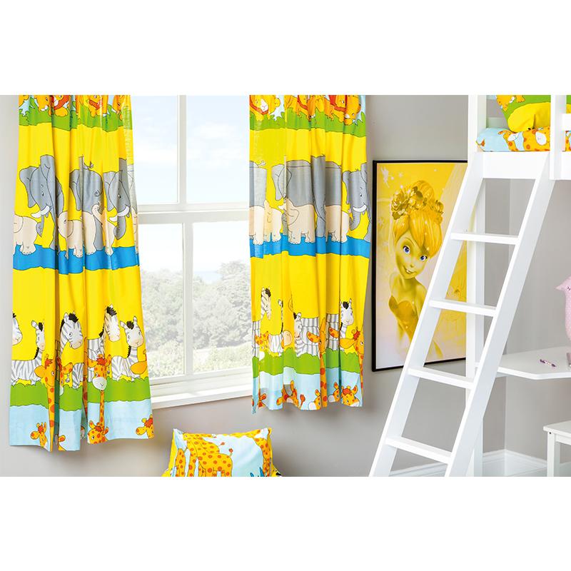 Kinder kindergarten gardinen junior tweens klebeband top bleistiftfalte ebay - Kinderzimmer zuhause im gluck ...