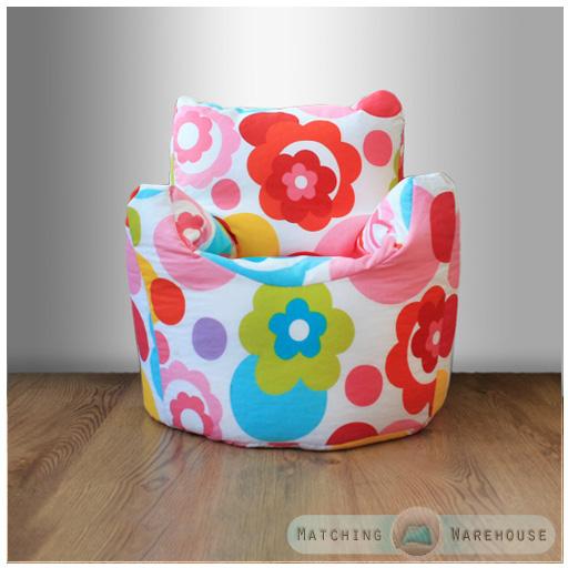 childrens character filled beanbag kids bean bag chair seat bedroom