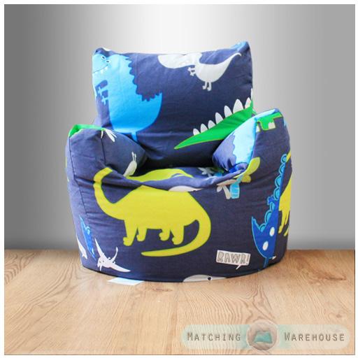 Childrens Character Filled Beanbag Kids Bean Bag Chair