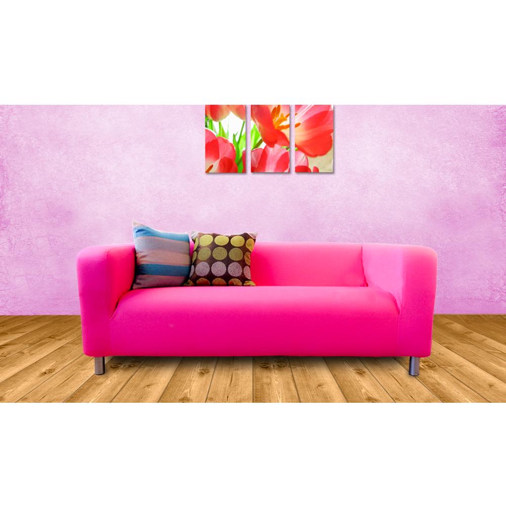 Bespoke custom made slip covers to fit the ikea klippan 2 for Custom made sofas uk
