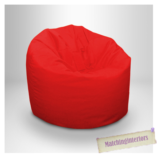 rouge r sistant aux claboussures pouf poire chaise int rieur ext rieur si ge ebay. Black Bedroom Furniture Sets. Home Design Ideas