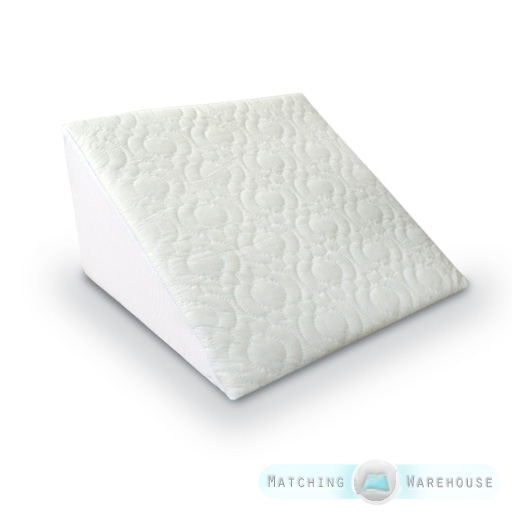 Cover For Bed Wedge Back Support Pillow Case Washable