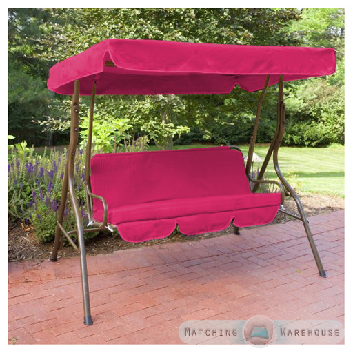 Replacement 2 Seater Swing Seat Canopy Cover And
