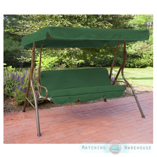 Details about Replacement 3 Seater Swing Seat Canopy Cover and Cushions Set Garden Hammock