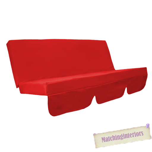 Details About Red Water Resistant Bench Cushion For Outdoor Swing Seat Hammock Garden Pad