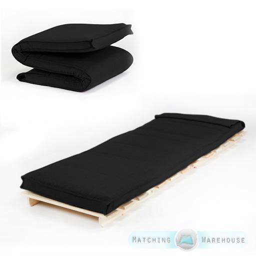 Single Size Futon Mattress Folding Foam Filled Removeable