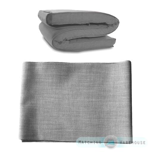 stoff ersatz abdeckung f r futon matratze einzel doppel. Black Bedroom Furniture Sets. Home Design Ideas