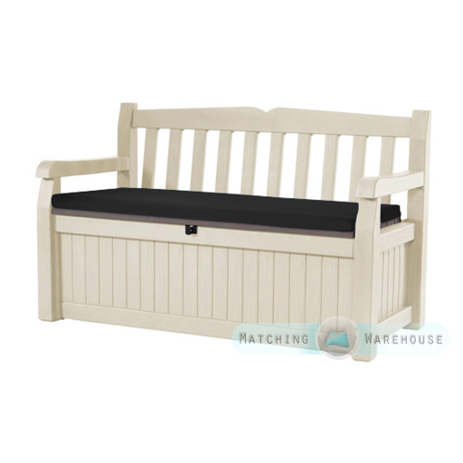 Beau Waterproof Bench Cushion For Keter Iceni Amp Eden