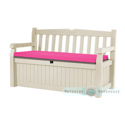 tanche banc coussin pour keter iceni eden meubles de jardin coussin de si ge ebay. Black Bedroom Furniture Sets. Home Design Ideas