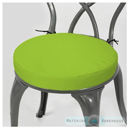 Détails sur Rond Coussin Chaise de Jardin Imperméable Extérieur seulement  Bistro tabouret patio salle à manger- afficher le titre d\'origine