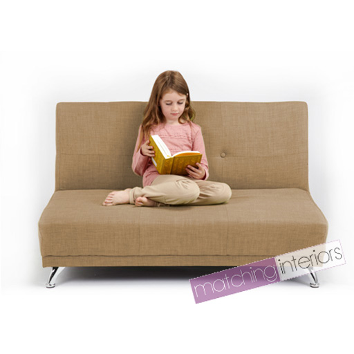 Sand Clic Clac Children S Kids 2 Seater Sofa Bed Guest Sleepover Settee Sofabed Ebay