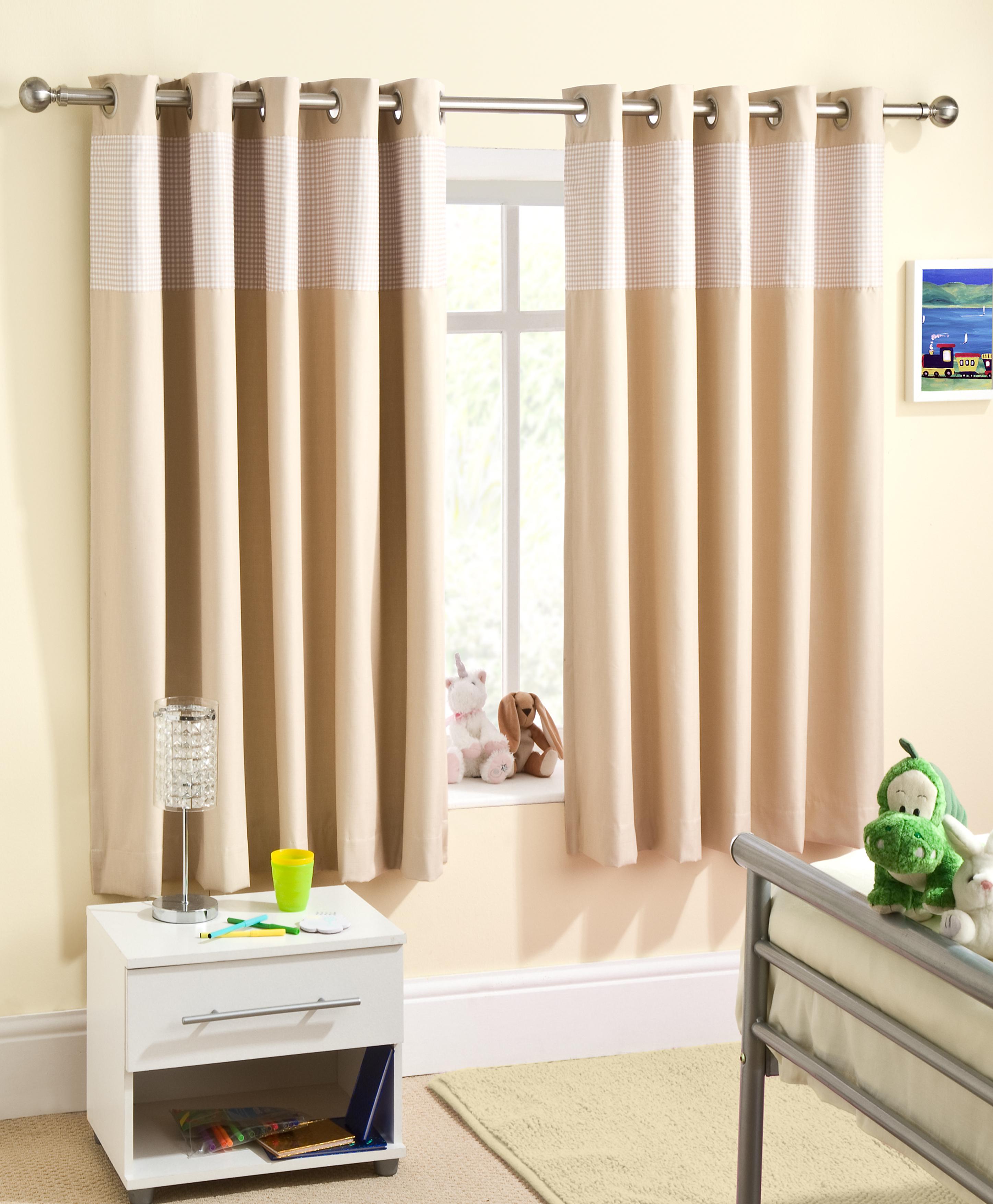 Nursery Eyelet Curtains Uk