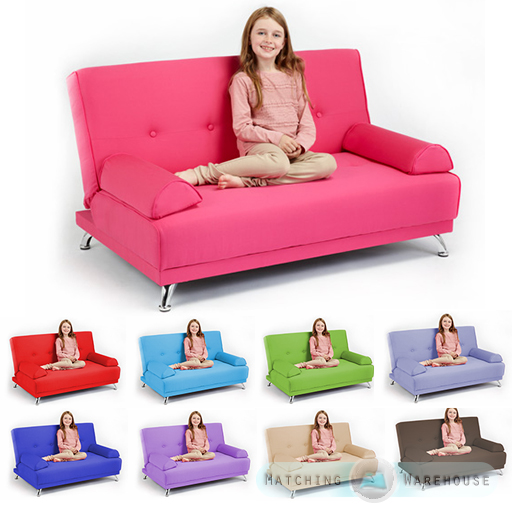Kids Pink Sofa Bed