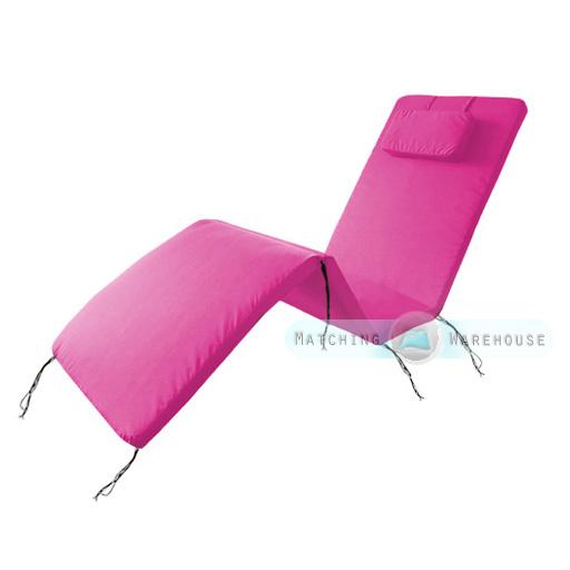 wasserdicht polster auflage f r au en garten terrasse verstellbar sonnenstuhl ebay. Black Bedroom Furniture Sets. Home Design Ideas
