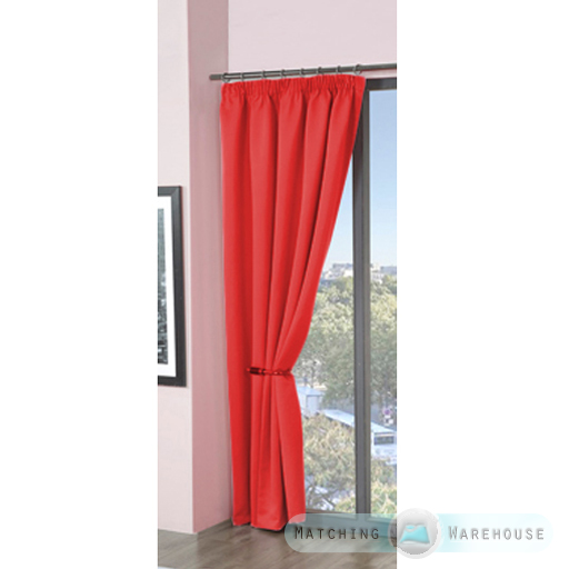 Childrens-Plain-Colour-Dyed-BlackOut-Thermal-Curtains-Tape-Top-Pencil-Pleat-Kids thumbnail 35