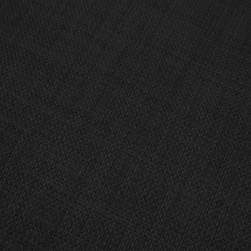 Black fabric soft linen look polyester material textiles for Black fabric couches