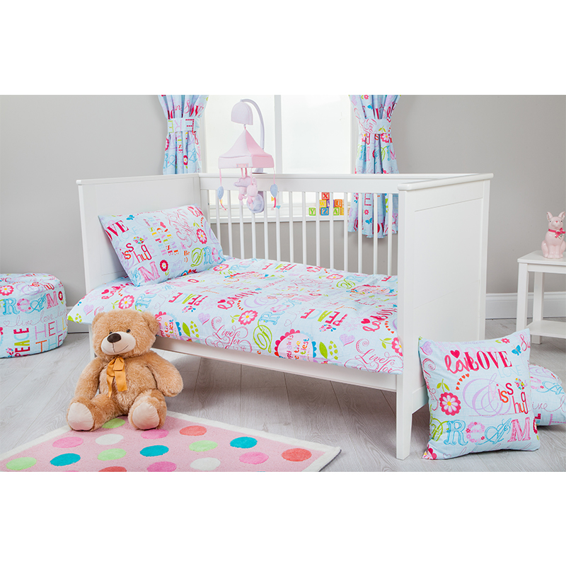 gitterbett gr e baby kinder bettw sche set bettbezug kissenh lle kleinkind ebay. Black Bedroom Furniture Sets. Home Design Ideas