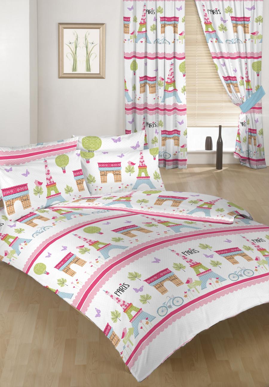 Paris Children S Double Bed Duvet Cover Set Amp 2