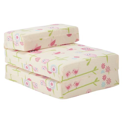 Owls Children S Z Bed Fold Out Chair Bed Mattress